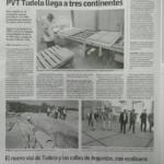 Diario De Navarra: La Baldosa Anticontaminante De PVT Llega A Tres Continentes