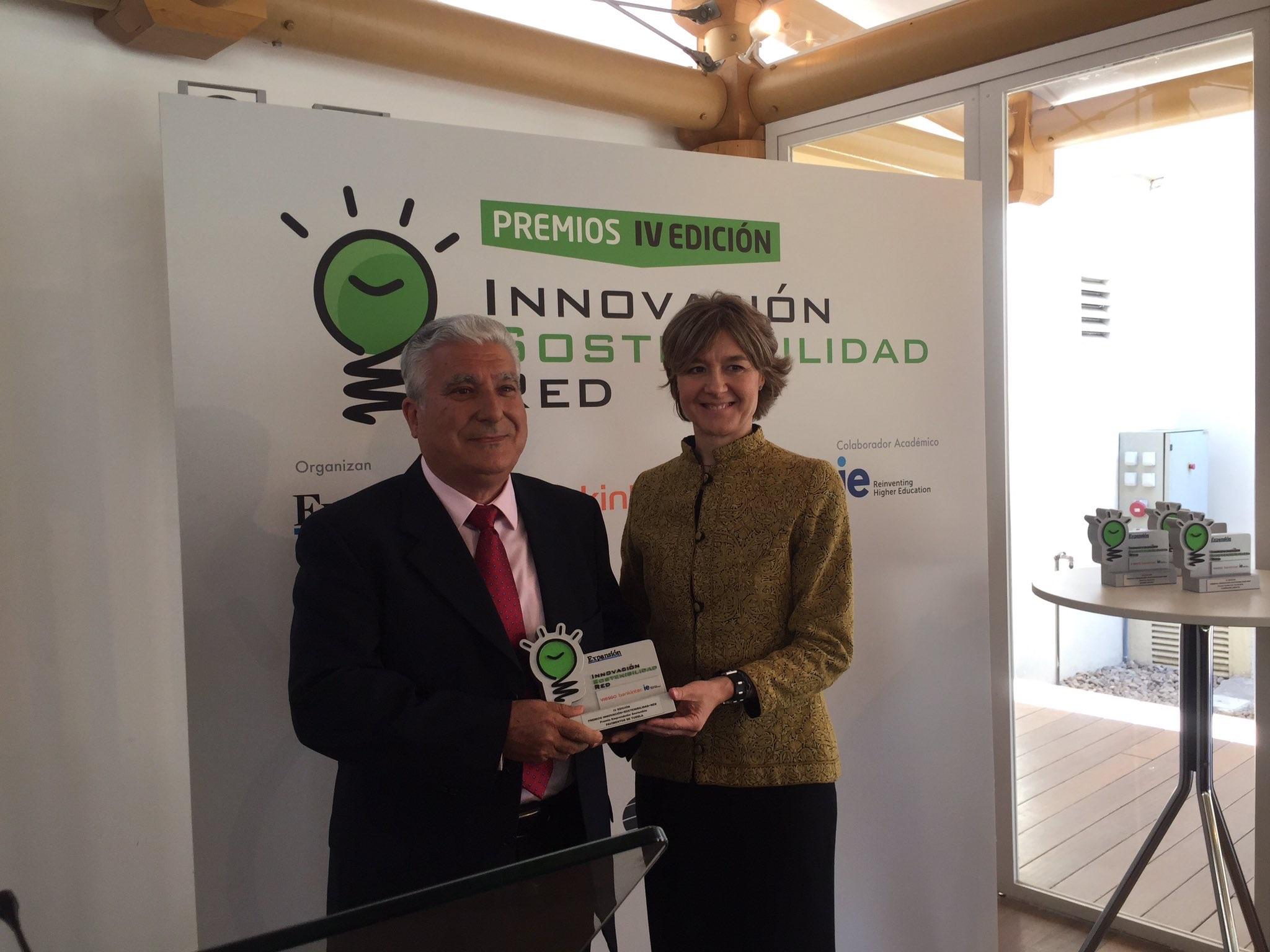 Servimedia: PVT Premio Innovación Y Sostenibilidad 2017 Por El Diario Expansión