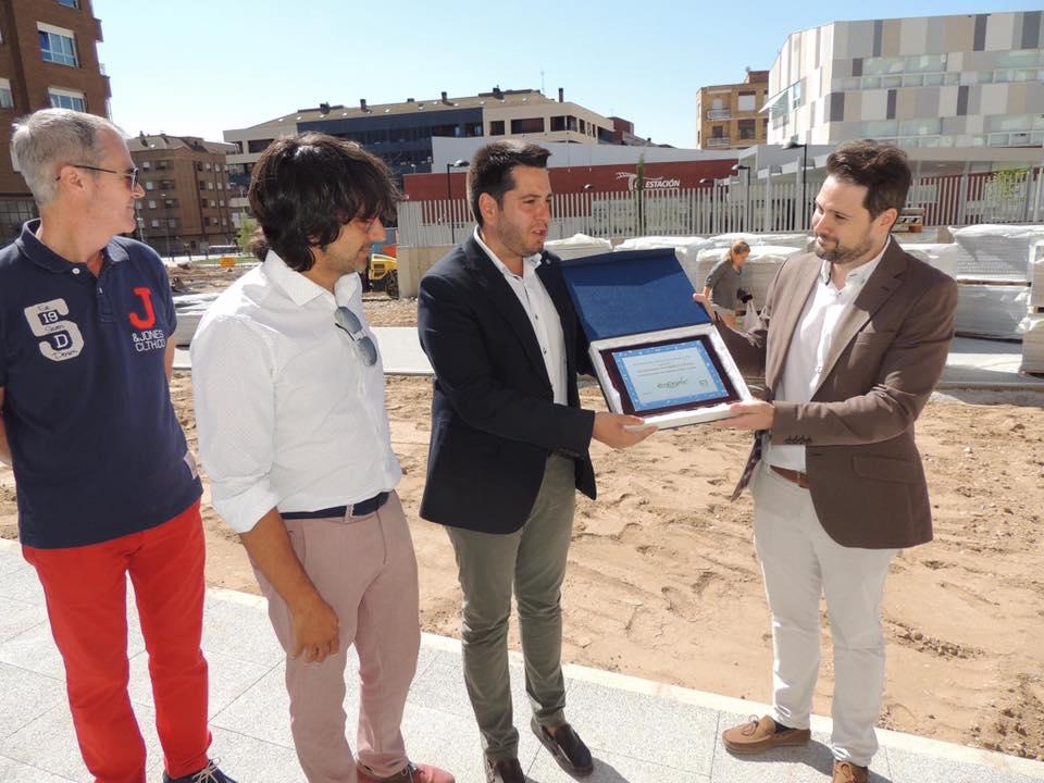 Diario La Rioja: La Reforma De La Estación Estará Finalizado En Otoño